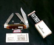 Schrade 89ot Old Timer Knife The Blazer Usa Made 4 Closed W/packaging,papers