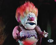 George S Irving Year Without A Santa Heat Miser Signed 8x10 Photo B Beckett Bas