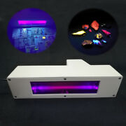 2 In 1 Lw + Sw 365nm 254nm Ultraviolet Uv Lamp For Fluorescent Minerals Currency