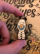Frozen Olaf Disney Store 30th Anniversary Pin Used