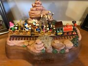 1992 Disneyandrsquos Big Thunder Mountain Railroad By Ron Lee Edition 146 Of 250