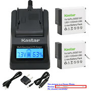 Kastar Battery Lcd Fast Charger For Gopro Ahdbt-501 Hero 5 And Gopro Hero5 Black