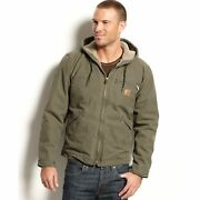 Menand039s Big And Tall Sherpa Lined Sandstone Sierra Jacket J141 - Size 3xl