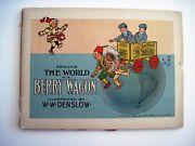 1909 Adorable And Informative Berry Brothers Varnishes Ad Booklet