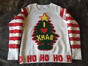 Hand Crafted Who Stole Christmas Whoville Holiday Cheermeiste Sweater