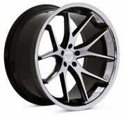22 Ferrada Fr2 Machined Black Concave Wheels For Mercedes W222 S400 S550 S63
