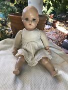 Antique 1930and039s 18 Inch Madame Alexander Doll Composition Head Hands And Feet