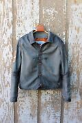 Nubuck Cowhide Leather Menandrsquos Jacket Made-to-order