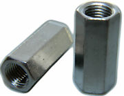 Stainless Steel Fine Threaded Rod Hex Coupling Extension Nuts 3/8-24 Qty 1000