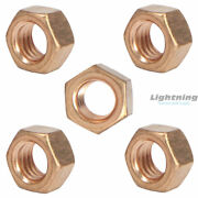 Silicon Bronze Grade 651 Full Finished Hex Nut 7/8-9 Qty 100