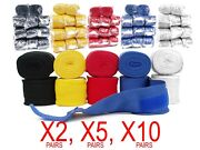 Mexican Style Hand Wrap 180/110 Elastic Cotton Wrist Bandage Boxing Mma Packs