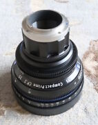 Zeiss Compact Prime Cp 35mm/t2.1 T Feet Sony E Mount Lens