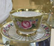 Exclusive Russian Imperial Lomonosov Porcelain Tea Cup And Saucer Recollection
