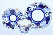 Russian Imperial Lomonosov Porcelain Set Cup Saucer Plate Chimes Ringing Bells