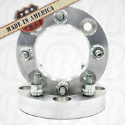 2 Usa Made   Atv 1 Wheel Adapters Spacers   4x110 To 4x156   12x1.25 Stud/nut