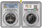 2010 Australia 150th Running Of The Melbourne Cup 50c Coin Pcgs Ms67