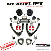 Readylift 4 Front 3 Rear Sst Lift Kit Fits 2007-2014 Chevy Suburban 1500 2wd