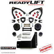 Readylift 4 Front 3 Rear Sst Lift Kit Fits 2007-2014 Cadillac Escalade 4wd