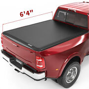 Oedro 6.5and039 Soft Truck Bed Tonneau Cover For 2002-2018 Dodge Ram 1500 2500 3500
