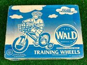 New Wald Training Wheels Made In The Usa Fits 16 To 20 Bikes Model 10252  J4