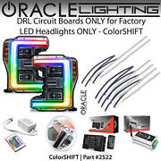 Oracle Halo Drl Kit For Led Headlights For 17-19 Ford F250 F350 Colorshift 2522