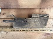 Antique Cast Iron Barn Door Latch Hand-forge Salvaged Barn Wood Country Farm