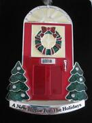 2018 1stfirst Christmasa New Home For The Holidays Red Door Ornamentnib