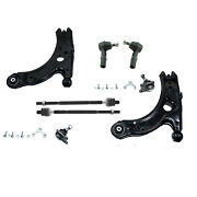 8pc Front Lower Control Arm Ball Joint Tierod For 1999-2004 Volkswagen Vw Jetta