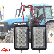 Led Tractor Lights For New Holland 8670a 8770a 8870a 8970a Tm115 9846126 X2pcs