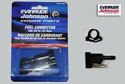 New Johnson Evinrude Omc 3/8 Fuel Connector Kit 775641