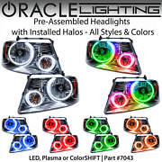 Oracle Pre-assembled Halo Headlights For 04-08 Ford F150 Mark Lt All Colors