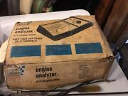 Vintage Sears Engine Analyzer 12 Volt 28-2161 With Extra Tools