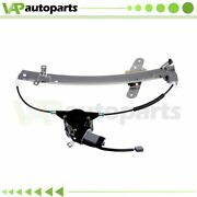 For 1998-2011 Lincoln Town Car 4.6l Power Window Regulator Front Left With Motor