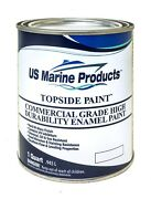 Us Marine Products - Topside Boat Paint - Red Quart