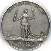 1763 Betts-446 Pcgs Xf 40 Messenger Of Peace Silver Betts Medal