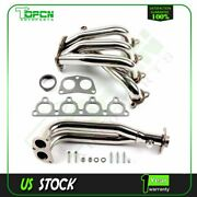 Stainless Header Manifold/exhaust For 88-00 Honda Civic D-series Engine Sohc