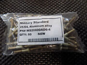 New Part No. Ms20600ad6-4 Rivet Sold 50 To A Package