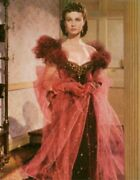 Gone With The Wind Print Nothing Modest Will Do Scarlett In The Red Dress Large