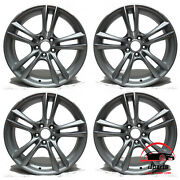 Set Of 4 Bmw 5and7 Activehybrid 7 2009-2017 20 Factory Oem Staggered Wheels Rims