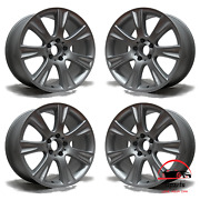 Set Of 4 Mercedes Cls550 2008 18 Factory Original Staggered Wheels Rims