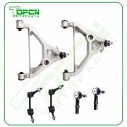 6pcs Front Lower Control Arms Suspension Fits 2003-2004 05 Navigator Expedition