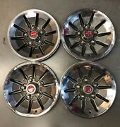 1 Set Ford Montego Torino 14 Hubcaps Wheel Covers 1974 1975 1976 730 Vintage