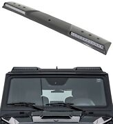 Carbon Fibre Roof Front Spoiler With Led Mercedes G-class W463 Brabus Style