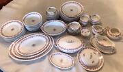 Rare Charles Ahrenfeldt Limoges France China Set For 8serving Piecesar36679pc
