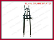 Bsa M20 M21 500cc Chrome And Paint Front End Girder Forks Complete Assembly