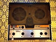 Lot - Racal Reel To Reel Recorder Store 4d - Heads Manual Boards Carry Case