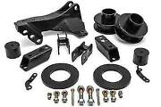 Lift Kit 2.5in Front Coil Spacer Track Bar Bracket Fit Ford 2017-2020 F250 F350