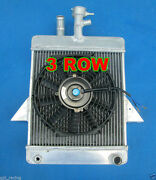 Aluminum Radiator And Fan For Triumph Gt6 1966-1973 66 67 68 69 70 71 72 73