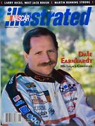 2002 Nascar Winston Cup Illustrated Dale Earnhardt Cover + Jimmie Johnson Poster