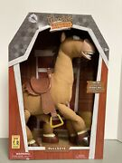 Disney Store - Toy Story 18andrdquo Interactive Bullseye Plush - Galloping Sounds - New